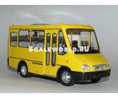 "БАЗ 2215 ""Дельфин"" маршрутное такси"