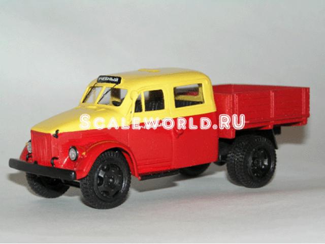 ГАЗ 51И учебный (двойная кабина) Vector-models
