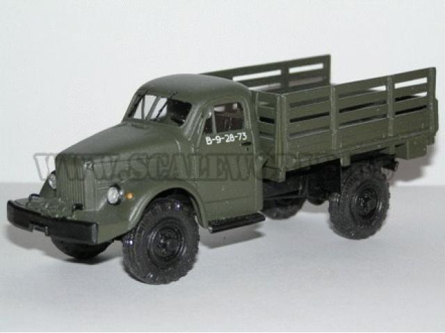 ГАЗ 63А 4х4 с лебёдкой, борт Vector-models
