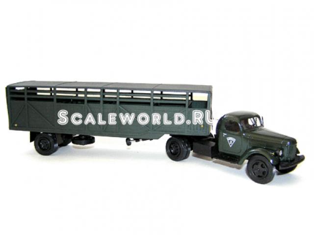 Зил 164АН с п/п ОдАз 822 скотовоз Vector-models