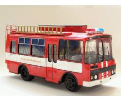Паз 3205 АСА пожарный Vector-models
