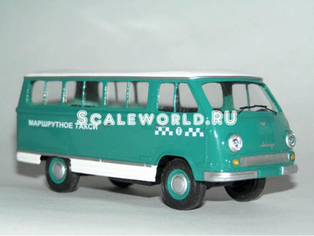 Раф 977ДМ маршрутное такси 1969 г. Vector-models
