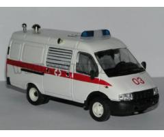"""ГАЗ 2705 """"Газель"""" медпомощь Агат-М"""
