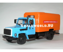 ГАЗ 3309 аварийная газовая служба Компаньон