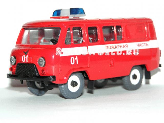 Уаз 39099 пожарный (Тантал)
