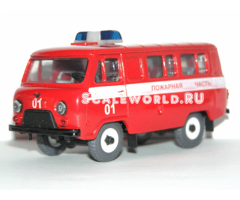 Уаз 3962 пожарный (Тантал)